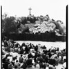 Easter (Mount Rubidoux, Riverside), 1952
