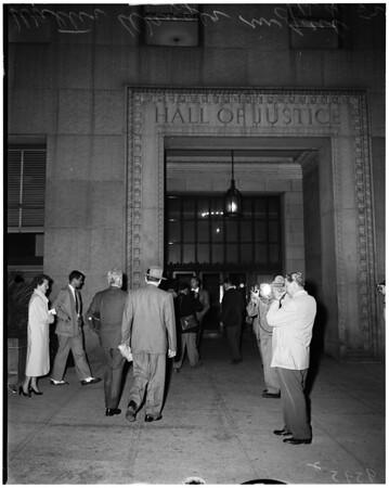 Walter Wanger in jail, 1952