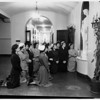 Engaged girls at Immaculate Heart, 1952