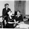 Inglewood burglar suspects, 1952