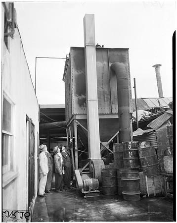 Smog control ...2400 South Santa Fe Avenue, 1949