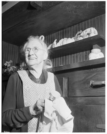 Coming centenarian, 1952