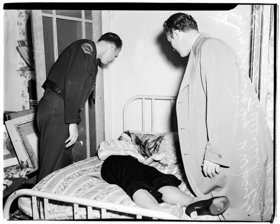 Art suicide, 1952