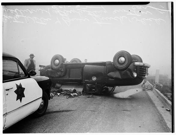 La Cienega Freeway crash, 1952