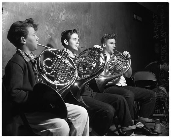 Kiwanis Club Youth Orchestra, 1952