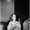 Erway rape - preliminary hearing, 1952