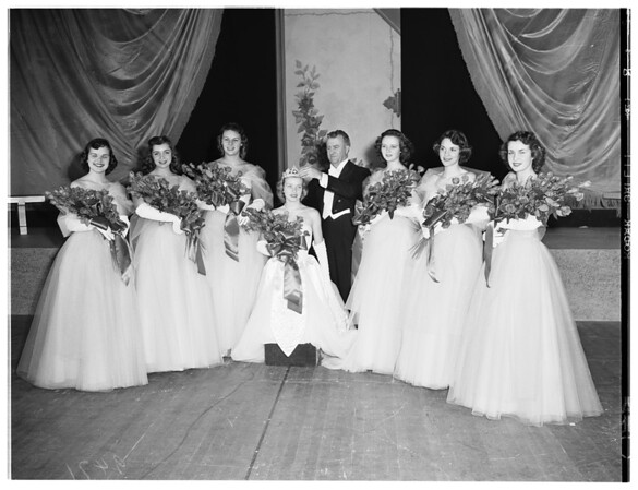 Coronation of Rose Queen, 1951