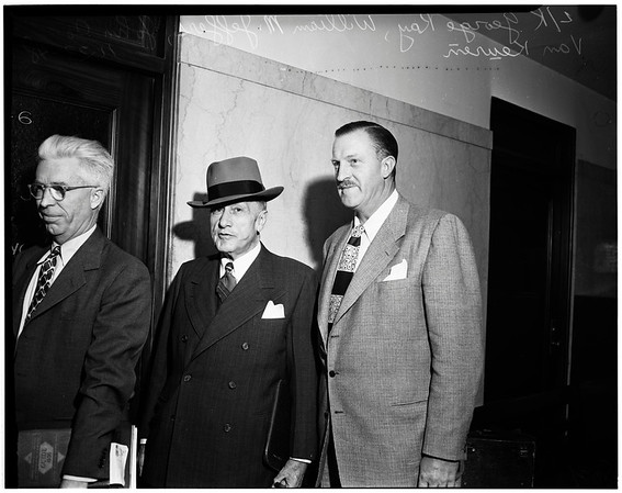 Smog hearing by grand jury, 1948