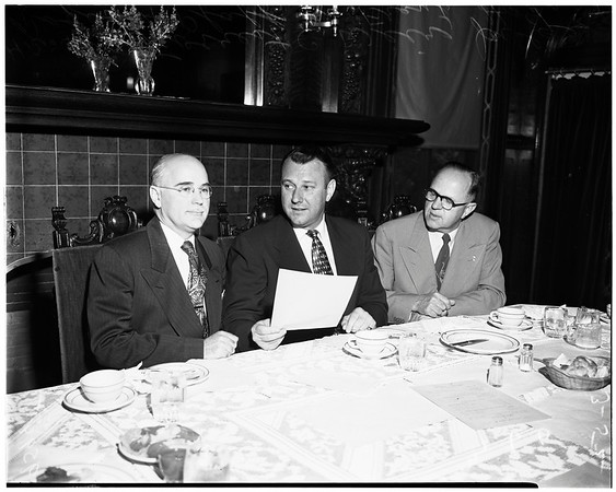 Luncheon at Church Federation, 1952