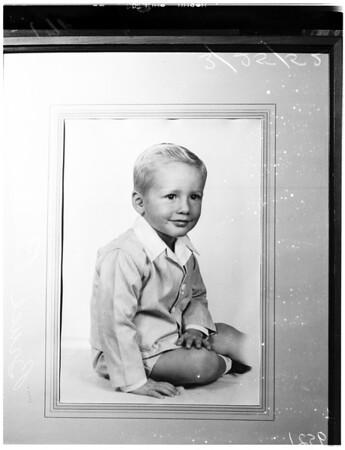 Lost boy, 1952
