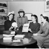 Society... Women planning USC medical faculty wives dance, 1952