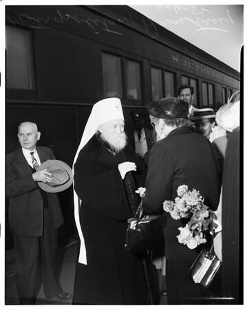 Russian Church dignitaries, 1952
