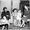 Planning doll fair, 1952
