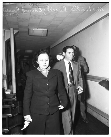 Child custody case, 1952