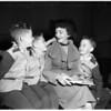 Board of Education meeting (triplets), 1952
