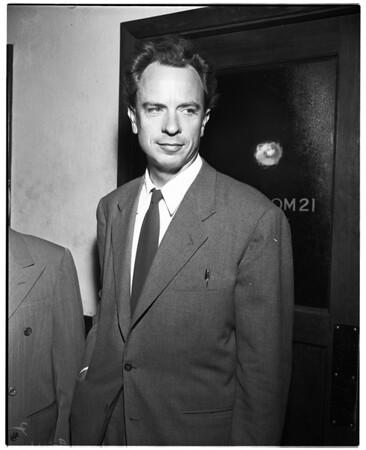 Bergman hearing, 1952