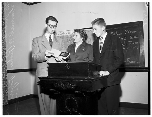 Youth Week (Rosewood Methodist Church), 1952