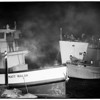 Boat Fire (Long Beach Harbor), 1952