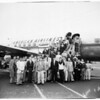 Examiner carriers off to Mexico City, 1952