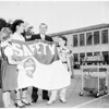 Safety flag presented, 1952