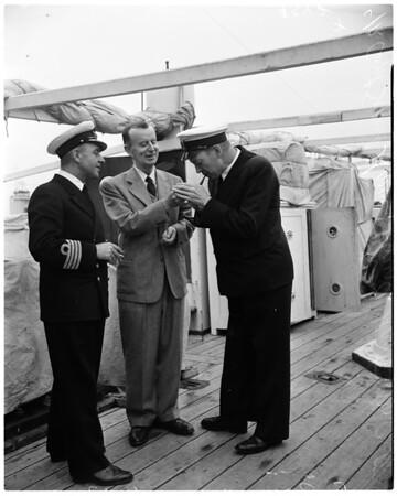 "Danish deep sea expedition (Frigate ""Galathea""), 1952"