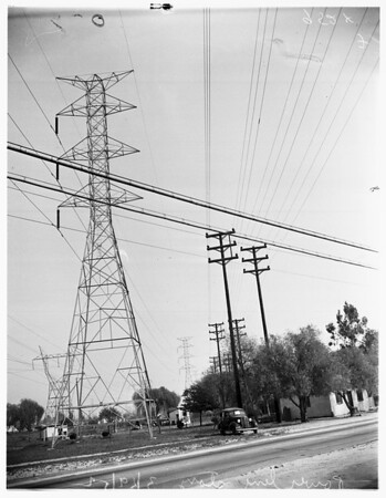 Power line story (North Hollywood), 1952