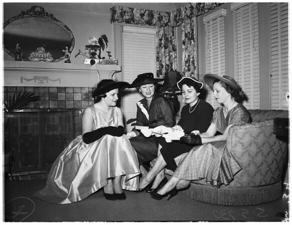 Italian Women's Clubs, 1953