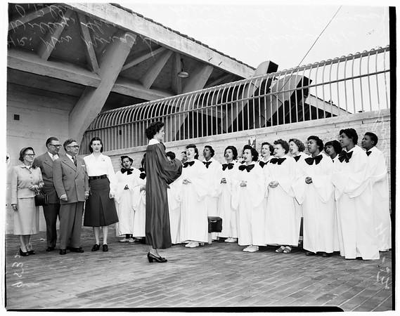 Jail choir, 1952