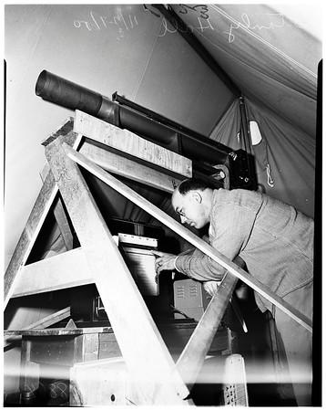 Smog measuring device, 1950