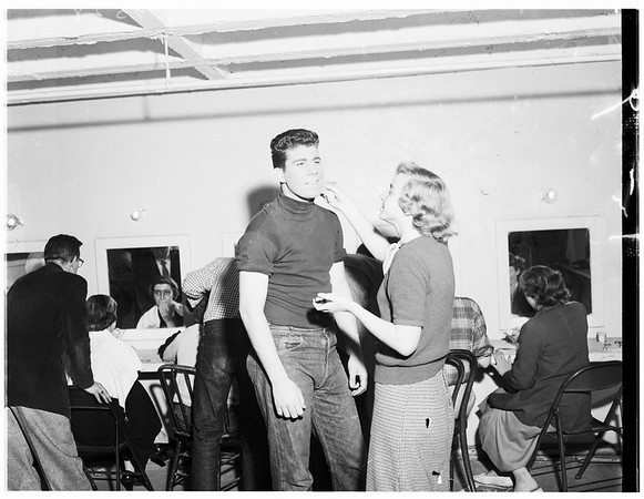 Pasadena playhouse ...One act play tournament ...Monrovia-duarte High School, Whittier High School, Pasadena City College High School Division, 1952