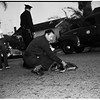 Hit and run dog injury, 1952
