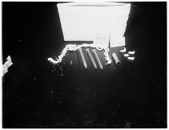 Santa Monica mystery death, 1952