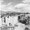 Arroyo Seco Bridge in Pasadena, under construction, 1952