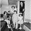 Juniors of Crippled Children fiesta 1953