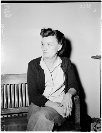 Kindig arrest, 1952