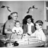Parents of British war brides -- mother visits daughter here, 1952
