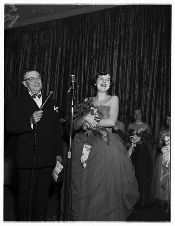 Queen of San Bernardino Orange Show, 1952