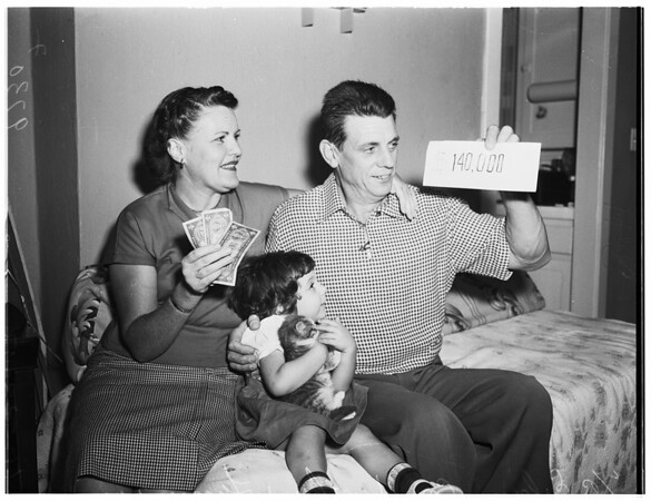 Irish sweepstakes winners (140,000.00), 1952