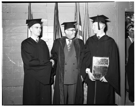 Whittier College graduates, 1952