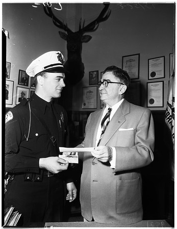 Police show, 1952