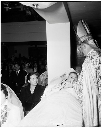 La Teresita commencement, 1952