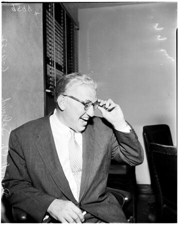 Lindstrom case, 1952