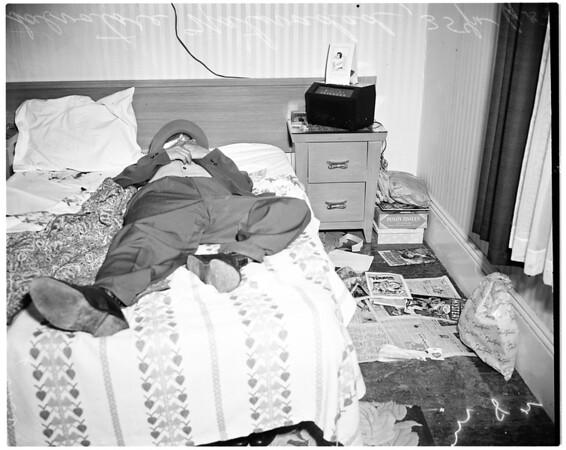 Shooting--Suicide, 1952