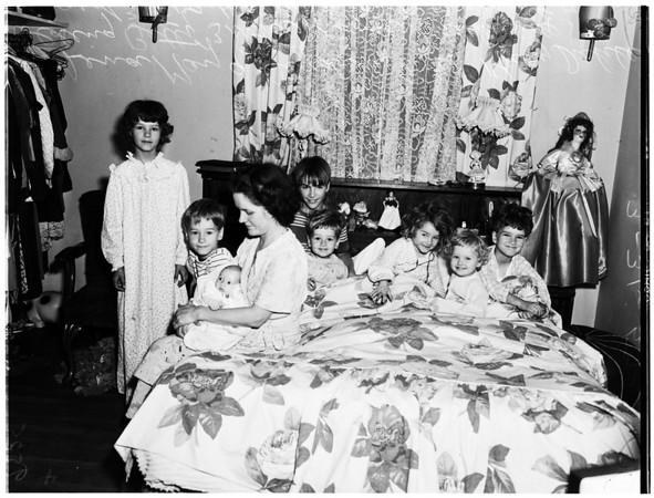 Suicide in family of eight children (Harold Dahler), 1952