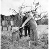 Seven Day Adventist ground breaking, 1952
