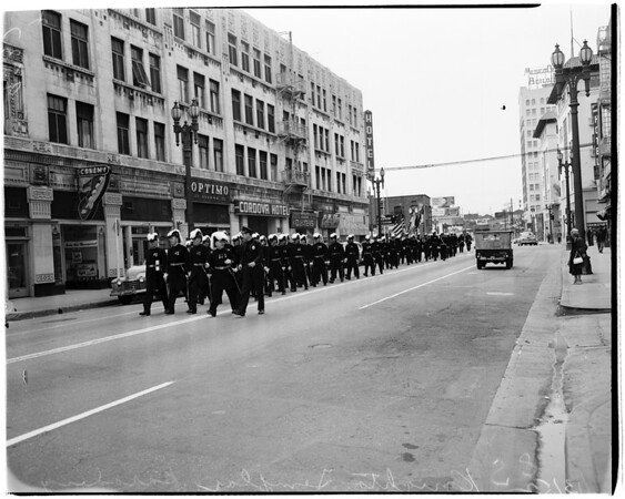 Knights Templer parade (Easter), 1952