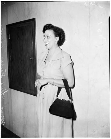 Felony drunk driving preliminary, 1952