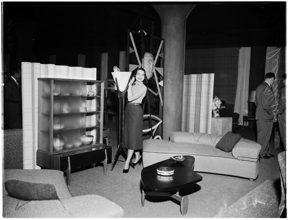Furniture mart opens, 1952
