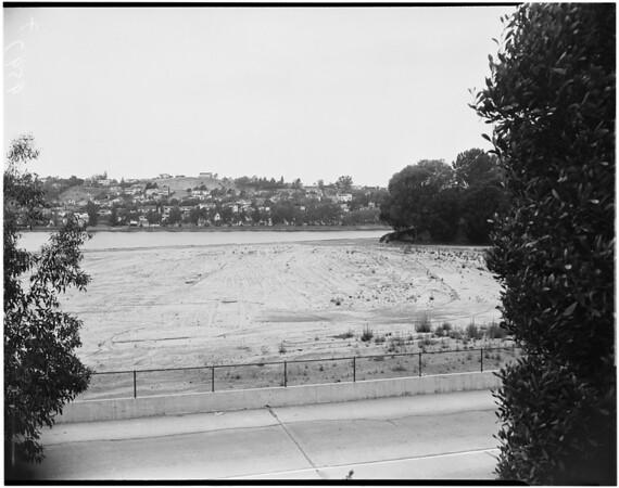 Silver Lake dam, etc., 1952