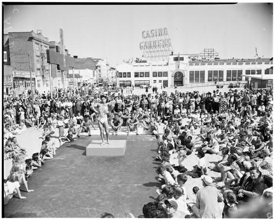 Mr. Ocean Park contest, 1952